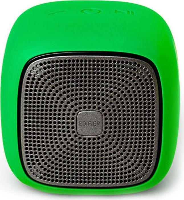 Edifier MP200, Green акустическая системаMP200 GreenКолонки Edifier MP200 GreenПортативные, 5.5W,bluetooth,влагозащита,microsd