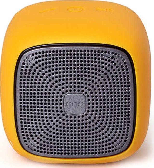 Edifier MP200, Yellow акустическая системаMP200 YellowКолонки Edifier MP200 YellowПортативные, 5.5W,bluetooth,влагозащита,microsd