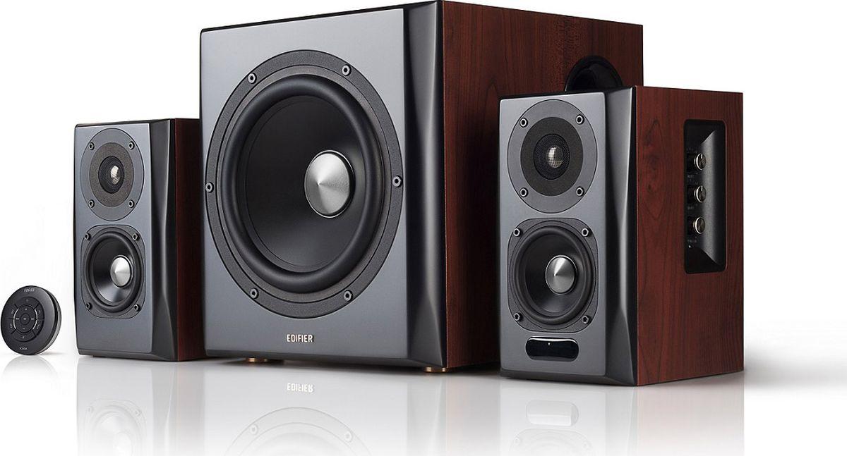 Edifier S350DB, Brown акустическая система - Колонки для компьютера