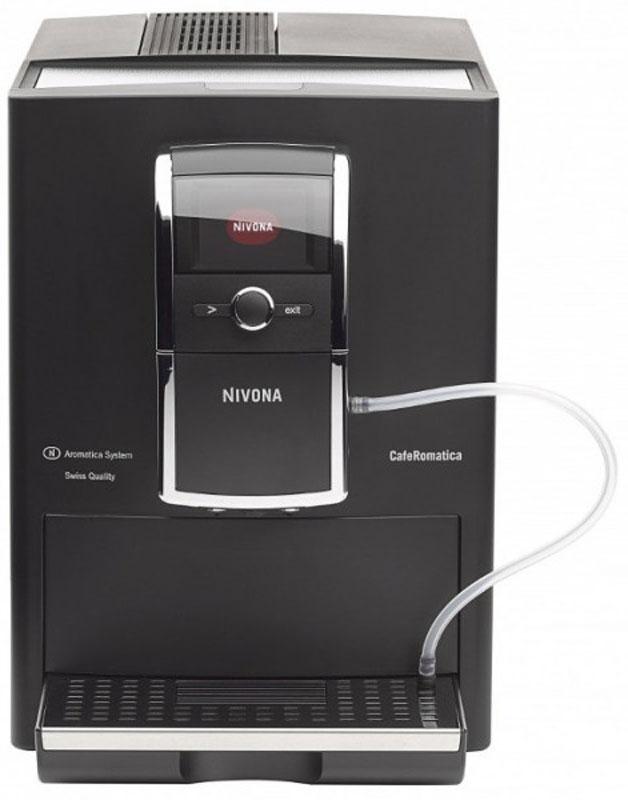 Nivona CafeRomatica NICR 838 кофемашина838Простая в управлении и обслуживании кофемашина Nivona CafeRomatica NICR 838 придется по вкусу ценителям кофе.Система Aromatica - запатентованное изобретение Nivona.Технология, позвопяющая извлечь из кофейных зерен максимум вкуса и аромата. Кофе после измельчения сжимается в особой динамической варочной камере и под действием давпения отдает наибопьшее количество ароматических масел.Система очистки.Кофемашины Nivona снабжены автоматической системой, периодически удаляющей из емкостей накипь и следы кофе.Капучинатор.Автоматическое устройство для вспенивания молока, превращает его в пену путем перегона через гибкую трубку и насыщения паром.Съемная варочная камера.Необходимый атрибут кофемашины с учетом необходимости содержать узлы и агрегаты в чистоте. Элементарно снимается и промывается проточной водой.Дисплей.Интуитивно понятное меню, полная информация о процессе варки кофе - всё это очень наглядно отображается на дисплее.TFT-цветной текстовый дисплей с возможностью выбора русского языкаВозможность программирования собственных рецептов (10 вариантов)2-цветная подсветка чашекАвтоматическая очистка капучинатораСистема автовкл./автовыкл.Энергосберегающий режимИндикация замены фильтраПрограммирование степени жесткости водыТихий режим работы кофемолкиСтатистикаРегулируемый по высоте дозатор (7-14 см)Крепость кофе: 6-12 г на чашку (5 вариантов)Температура кофе: 3 уровня