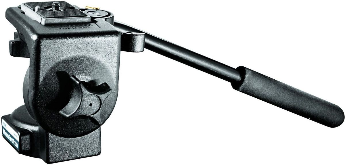 Manfrotto 128RC, Black штативная головка128RCЛегкая жидкостная штативная головка с рукояткой панорамирования и быстросъемной площадкой с двойной защитой, идеальна для камер весом до 4 кг. Отличается плавным гидравлическим движением с возможностью фиксации по вертикали и горизонту. Данная модель окрашена в черный цвет. Опциональные площадки: 200PL-38.