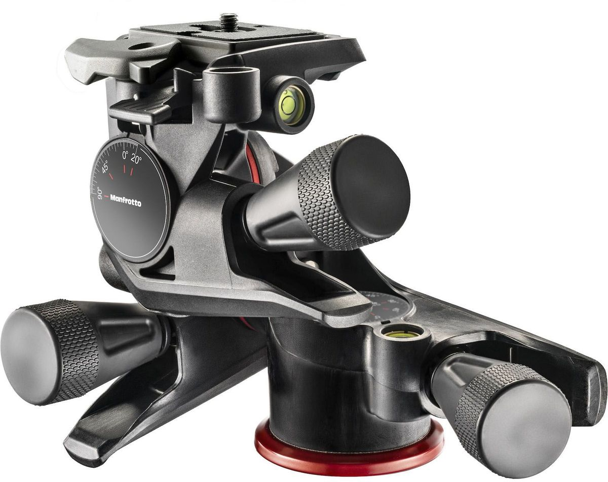 Manfrotto MHXPRO-3WG, Black штативная головка