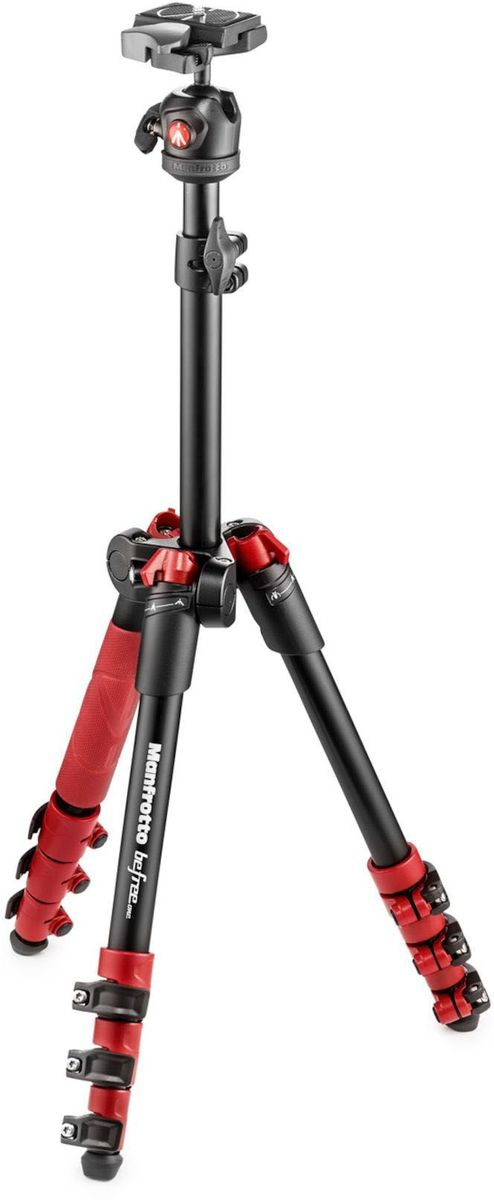Manfrotto MKBFR1A4R-BH, Red штатив