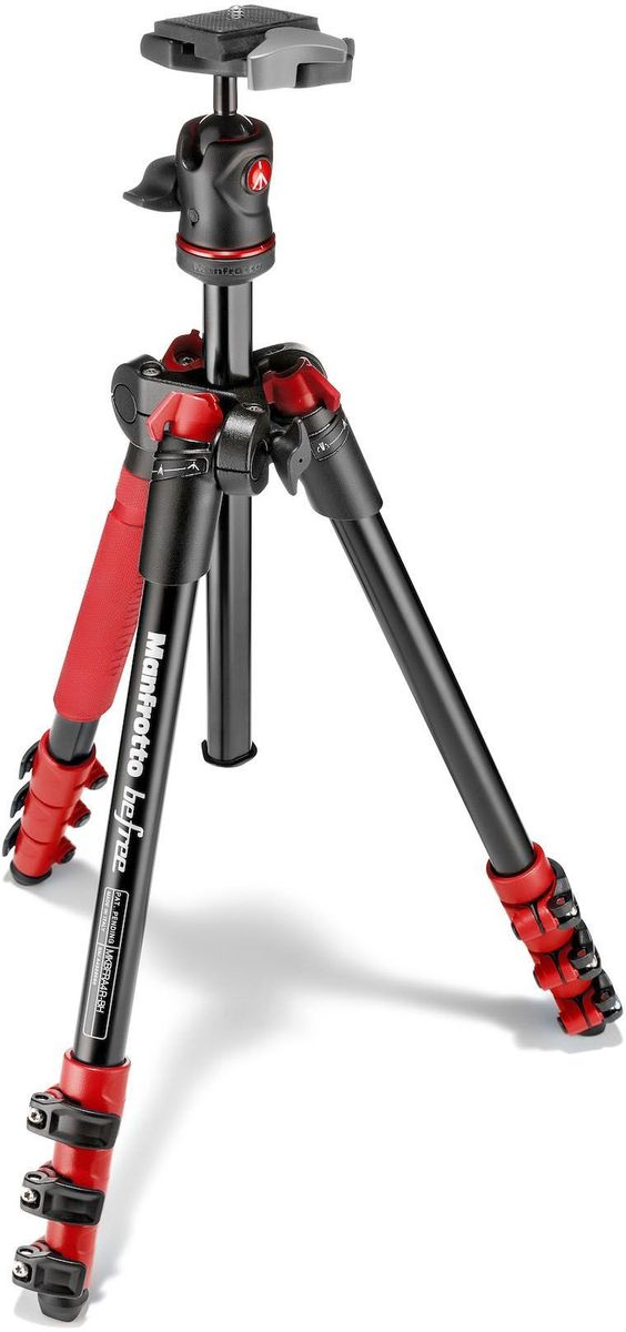 Manfrotto MKBFRA4R-BH, Red штатив
