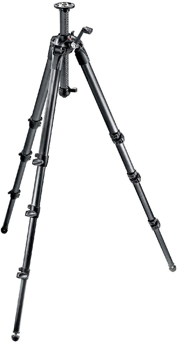 Manfrotto MT057C4-G, Black штативMT057C4-GПрофессиональный, прочный и универсальный штатив, обеспечивающий максимальную эффективность и различные возможности установки. Большие четырехсекционные ноги из карбонового волокна обеспечивают невероятный уровень устойчивости даже на большой высоте при полном удлинении. Центральная колонна с подъемником обеспечивает максимальную точность при выборе положения камеры, в то время как специальный переходник колонны позволяет снимать с уровня земли.
