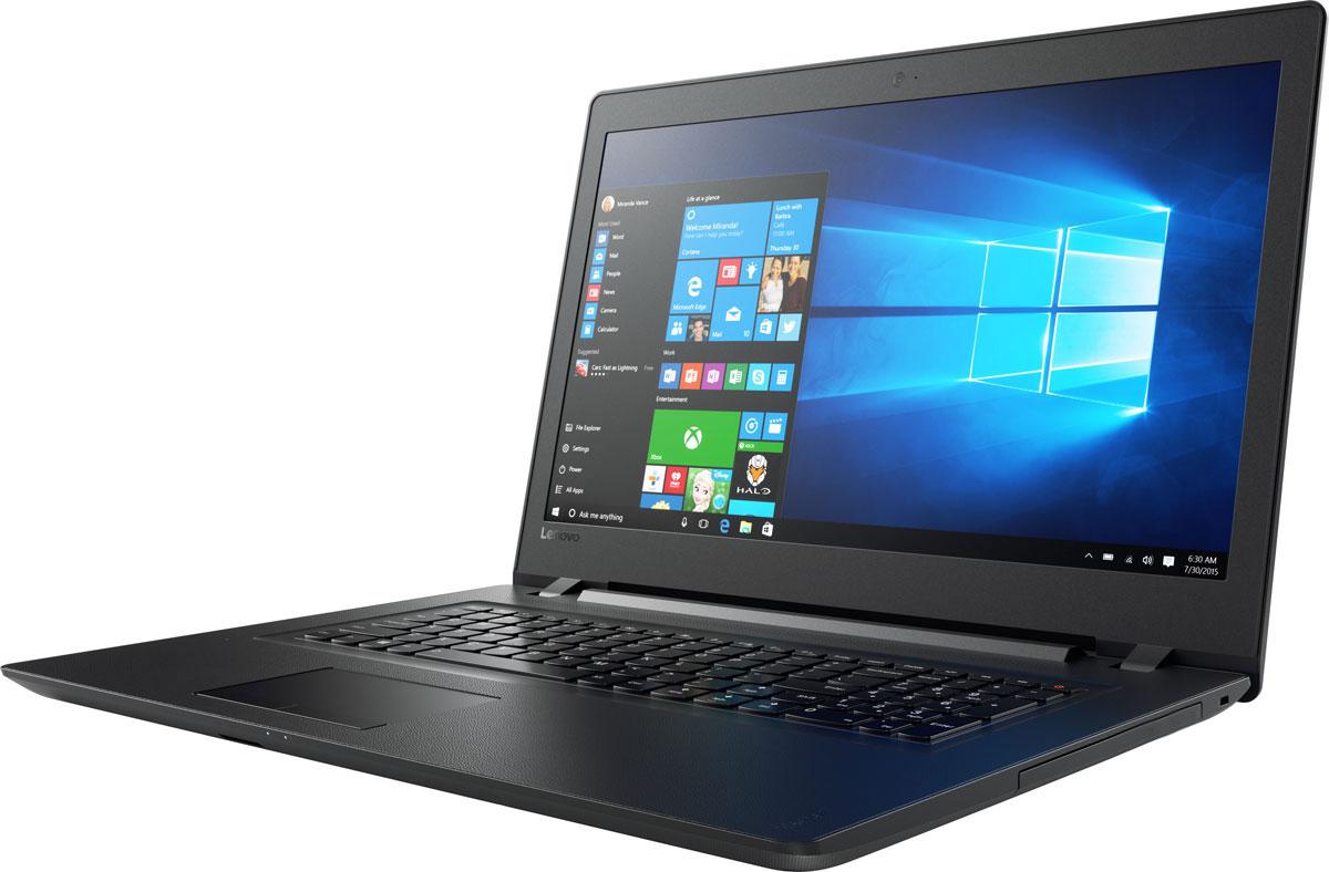 Lenovo IdeaPad 110-17IKB, Black (80VK005URK)80VK005URKLenovo IdeaPad 110 объединяет все необходимые характеристики в одном устройстве начального уровня: стабильная производительность, большой объем оперативной памяти и накопителя, высококлассный дисплей. 17,3-дюймовый широкоформатный дисплей стандарта HD с соотношением сторон 16:9 и разрешением 1600 х 900 обеспечивает четкость и яркость изображения.Ноутбук Ideapad 110 оснащен встроенным модулем Wi-Fi 802.11 a/c, что обеспечит молниеносную скорость для веб-серфинга, воспроизведения потокового видео и загрузки файлов. Скорость передачи данных стандарта Wi-Fi 802.11 a/c почти в три раза выше, чем 802.11 b/g/n.На ноутбук Lenovo IdeaPad 110 установлена обновленная версия уже знакомой Windows. Меню Пуск вернулось и стало лучше, чем прежде. Его можно расширять и настраивать под свои задачи. К ноутбуку можно подключать различные устройства: принтеры, камеры, USB-накопители и другие устройства. Дополнительные функции безопасности защитят его от кражи и вредоносного ПО.Точные характеристики зависят от модификации.Ноутбук сертифицирован EAC и имеет русифицированную клавиатуру и Руководство пользователя
