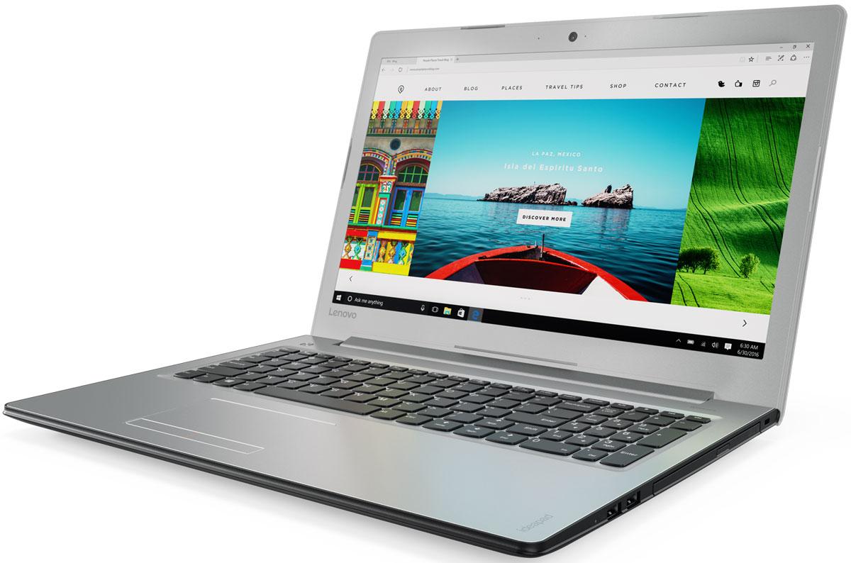 Lenovo IdeaPad 310-15IAP, Silver (80TT005YRK)80TT005YRKТонкий и стильный 15,6-дюймовый ноутбук Lenovo IdeaPad 310. Все, что нужно. Ничего лишнего. Если вы ищете недорогой производительный ноутбук, выбирайте IdeaPad 310.Процессор от Intel - идеальный компонент для мобильного компьютера, с отличным соотношением цены и производительности. Благодаря высокой энергоэффективности его можно заряжать реже.Высокая скорость передачи данных:Быстрая передача данных между IdeaPad 310 и другими устройствами при помощи разъема USB 3.0. Он почти в десять раз быстрее предыдущих версий USB и является обратно-совместимым.Тонкий, легкий и портативный:Хватить изнывать под тяжестью громоздкого ноутбука. Модель Ideapad 310 имеет всего 22,9 мм в толщину и весит около 2,2 кг - идеальный вариант для поездок и путешествий.Сверхскоростной веб-серфинг:В три раза более высокая (по сравнению с традиционной) скорость Wi-Fi 802.11 a/c ноутбука IdeaPad 300 позволит вам путешествовать по просторам Интернета, слушать музыку или смотреть фильмы и общаться с друзьями быстрее, чем когда-либо.Точные характеристики зависят от модификации.Ноутбук сертифицирован EAC и имеет русифицированную клавиатуру и Руководство пользователя