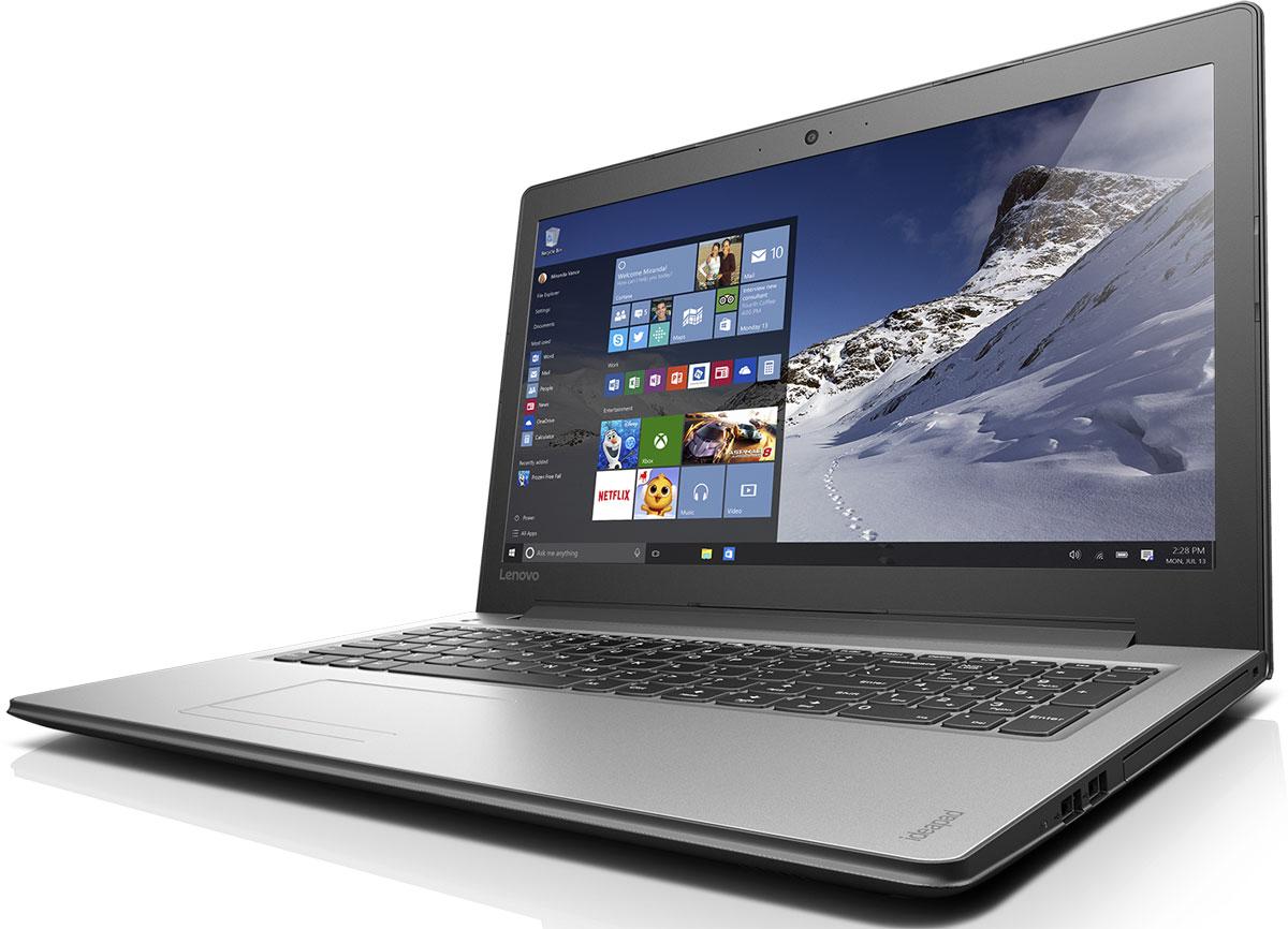 Lenovo IdeaPad 310-15ISK, Silver (80SM01RNRK)80SM01RNRKТонкий и стильный 15,6-дюймовый ноутбук Lenovo IdeaPad 310. Все, что нужно. Ничего лишнего. Если вы ищете недорогой производительный ноутбук, выбирайте IdeaPad 310.Процессор от Intel - идеальный компонент для мобильного компьютера, с отличным соотношением цены и производительности. Благодаря высокой энергоэффективности его можно заряжать реже.Высокая скорость передачи данных:Быстрая передача данных между IdeaPad 310 и другими устройствами при помощи разъема USB 3.0. Он почти в десять раз быстрее предыдущих версий USB и является обратно-совместимым.Тонкий, легкий и портативный:Хватить изнывать под тяжестью громоздкого ноутбука. Модель Ideapad 310 имеет всего 22,9 мм в толщину и весит около 2,2 кг - идеальный вариант для поездок и путешествий.Сверхскоростной веб-серфинг:В три раза более высокая (по сравнению с традиционной) скорость Wi-Fi 802.11 a/c ноутбука IdeaPad 300 позволит вам путешествовать по просторам Интернета, слушать музыку или смотреть фильмы и общаться с друзьями быстрее, чем когда-либо.Точные характеристики зависят от модификации.Ноутбук сертифицирован EAC и имеет русифицированную клавиатуру и Руководство пользователя