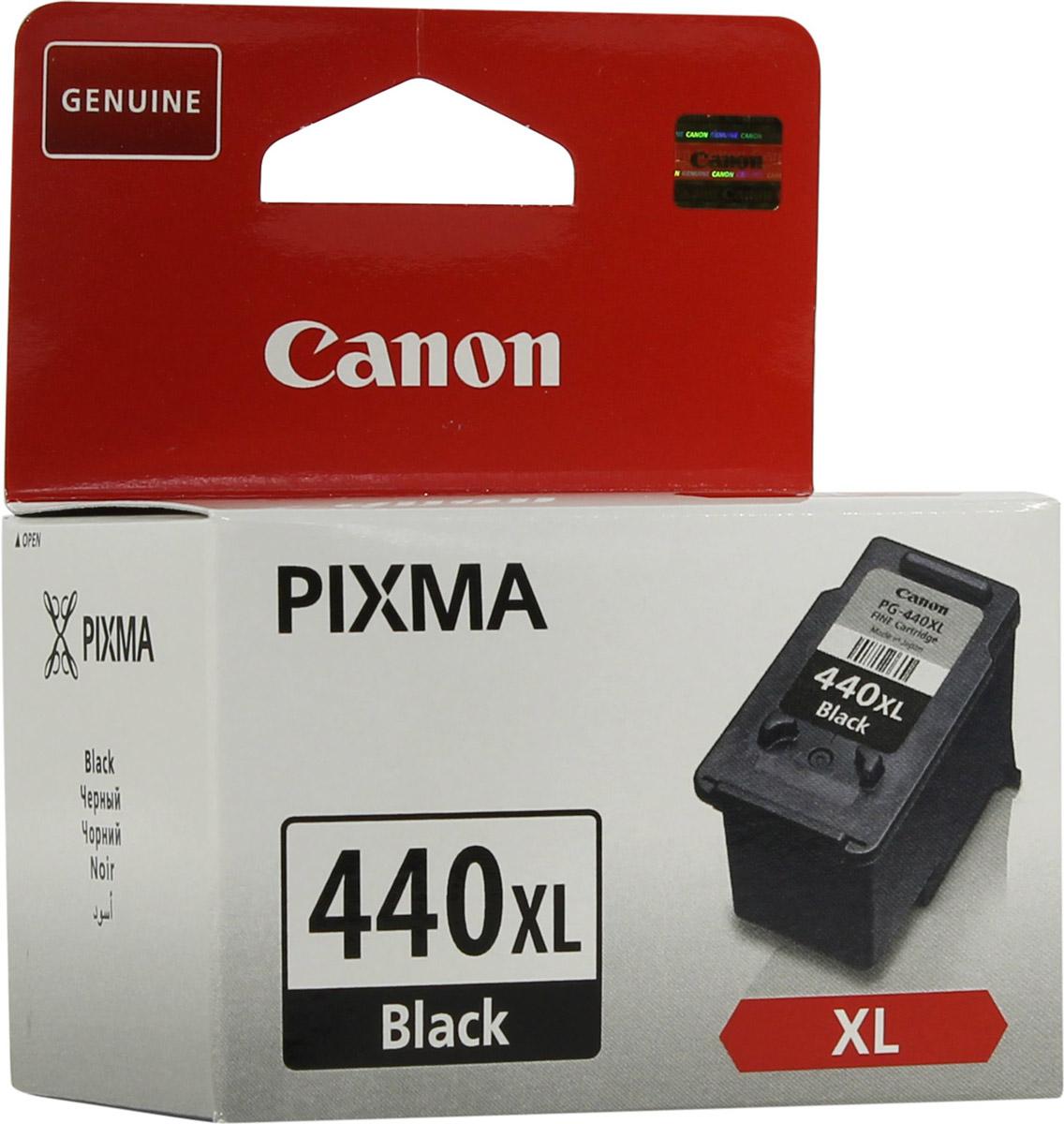 Canon PG-440 BK XL, Black картридж для струйных принтеров Pixma MG2140/MG3140/MG4140/MX374/MX434/MX514