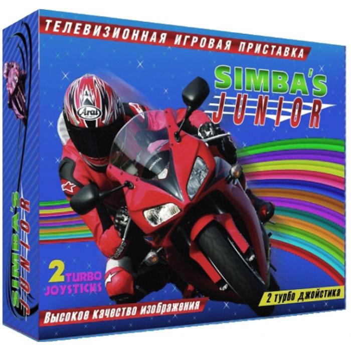 Simbas Junior игровая приставка + картридж на 9999999 игрVG-802Классическая 8-битная приставка Simbas Junior. К приставке в комплект входит игровой картридж на 9999999 игр . Приставка отличается неприхотливостью, лёгкостью подключения и надежностью в работе.Процессор: 8 битный процессор Motorola 6502, тактовая частота 1,79 Мгц. Видеосистема: 16 Кбит видеопамяти, 256x240 точек - разрешение экрана. Звук: встроенный pAPU, 5 каналов. 2 порта контроллеров. Игровой картридж на 9999999 игр - 1 шт., пистолет - 1 шт., джойстик - 2шт., адаптер, инструкция,гарантийный талон.