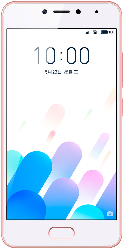 Meizu M5c 16GB, Rose Gold - Смартфоны