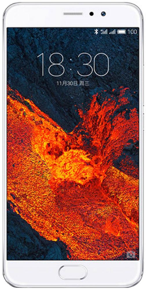 Meizu Pro 6 Plus 64GB, Silver White - Смартфоны