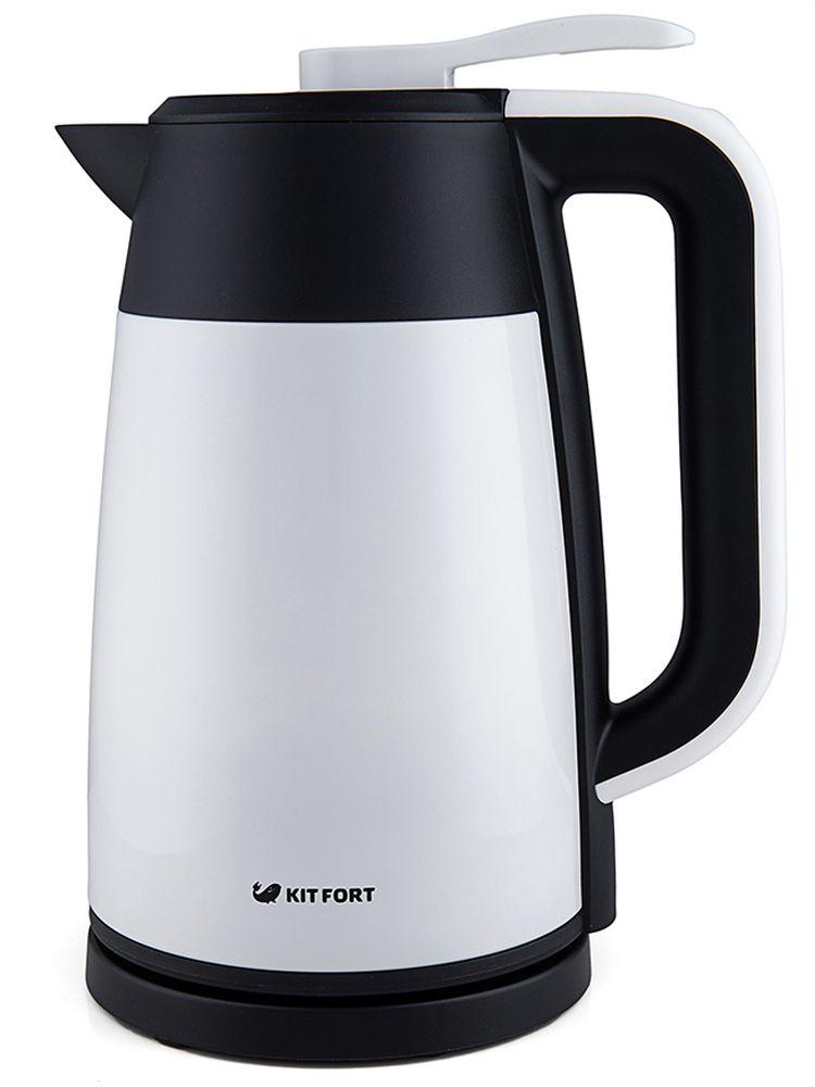 Kitfort КТ-620-1 Vacuum Edition чайник электрическийКТ-620-1Чайник Kitfort КТ-620 позволяет экономить электроэнергию. Он более экономичен, чем термопот, и, в отличие от термопота, имеет более простую и, как следствие, более надежную конструкцию. Крышка защищает от случайного пролива или выплескивания воды.Особенности и функции:- двойные стенки с вакуумом- эффект термоса: вода остывает очень медленно- металлический корпус- наружная поверхность корпуса не нагревается выше 35°С - крышка-непроливайка с клапаном- контроль температуры- электронное управление- экономит электроэнергиюТехнические характеристики:Напряжение: 220-240 В, 50 ГцМощность: 1850-2200 ВтЕмкость: 1,7 лДлина шнура: 67 см