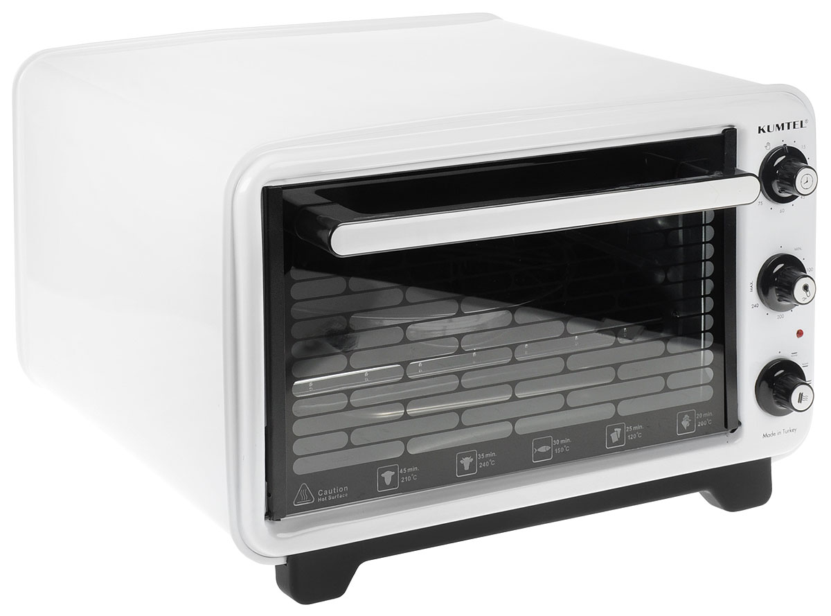 Kumtel KF 3125 D, White жарочный шкаф - Духовые шкафы
