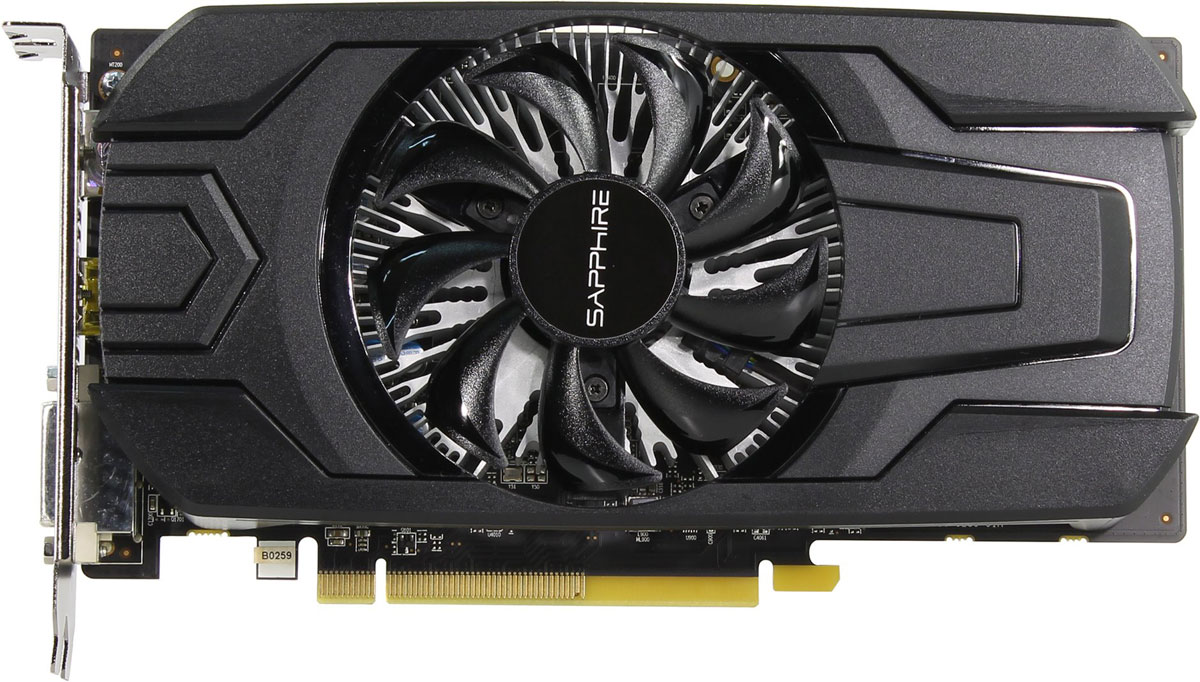 Sapphire Pulse Radeon RX 560 2GB видеокарта (45 Вт)11267-13-20GSapphire Pulse Radeon RX 560 - компактная, но в тоже время мощная видеокарта на базе архитектуры GCN 4 поколения.Технология Frame Rate Target Control (FRTC) позволяет настраивать количество кадров в секунду в реальном времени. Эта функция уменьшает потребление графического процессора (полезно для игр, в которых частота кадров намного превышает частоту обновления дисплея), соответственно уменьшая тепловыделение и обороты вентилятора, что дополнительно уменьшает шум видеокарты.Управление частотой кадров ограничивает производительность не только в 3D-сценах, но и в экранных заставках, экранах загрузки и меню, где частота кадров достигает сотен кадров в секунду зачастую без какой-либо необходимости. Пользователи могут установить максимальный уровень ограничения, чтобы избежать нерациональных значений частоты кадров, встречающихся, например, в меню, и при этом извлечь выгоду из времени отклика при частоте свыше 60 кадров в секунду.Технология AMD FreeSync позволяет совместимым видеокарте и монитору динамически менять FPS для достижения идеальной картинки. Она использует возможности стандартного протокола DisplayPort Adaptive-Sync для получения плавной смены кадров на мониторе без артефактов и задержек с максимально возможной производительностью и комфортом.AMD Eyefinity представляет собой технологию, благодаря которой изображение с одной видеокарты можно вывести на несколько экранов. Это сделает игровой процесс более захватывающим, а рабочий процесс более удобным и эффективным (в среднем 42% и больше в некоторых сценариях).Технология AMD Crossfire предназначена для создания мощных игровых станций с несколькими видеокартами. Она позволяет использовать в одной связке 2 и более видеокарт для достижения высочайшей производительности ПК. AMD Crossfire работает для видеокарт разных ценовых диапазонов. Гибкая настройка позволяет выбирать, сколько видеокарт - две, три или четыре - объединить для создания идеальной сис