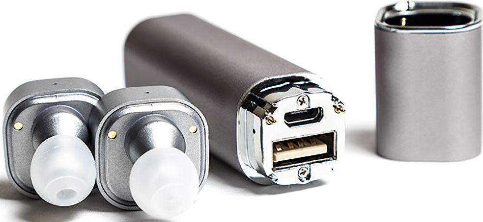 Mettle TWS-S1, Silver беспроводные наушникиTWS-S1 SilverНаушники без проводов теперь возможны! Mettle TWS-S1 позволят вам легко и быстро синхронизировать смартфоны, планшеты и другие музыкальные устройства. Bluetooth с усовершенствованной технологией аудиодекодирования обеспечивает беспроводное подключение к вашему смартфону и к другим Bluetooth устройствам. Сверхмалые стереофонические беспроводные наушники с высоким качеством звука. Гладкая и инновационная портативная система зарядки. 2 в 1 Bluetooth-гарнитура и зарядное устройство. Высокое качество, современный дизайн и красочные цвета. Специальная технология уменьшает внешние шумы, что позволяет четко слышать звук микрофона.