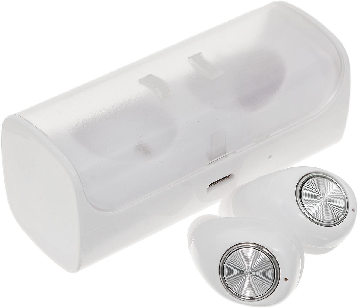 Mettle TWS-10, White Silver беспроводные наушники - Bluetooth-гарнитуры
