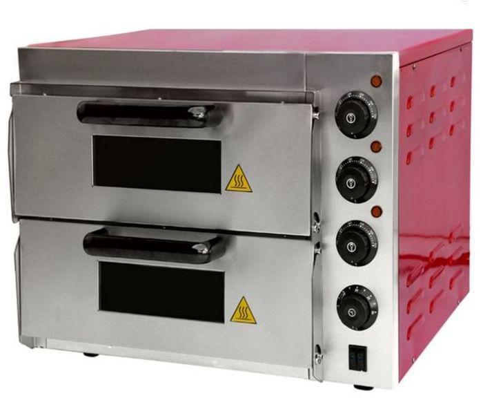 GASTRORAG EP-2RR мини-печьEP-2RRПечь для пиццы GASTRORAG EP-2RR электрическая, 2 модуля, размеры камеры 415 х 400 х 120 мм, дверцы со смотровыми окнами, керамический под, независимый верхний и нижний нагрев, температура выпечки 50-350 °С, таймер 0-30 мин