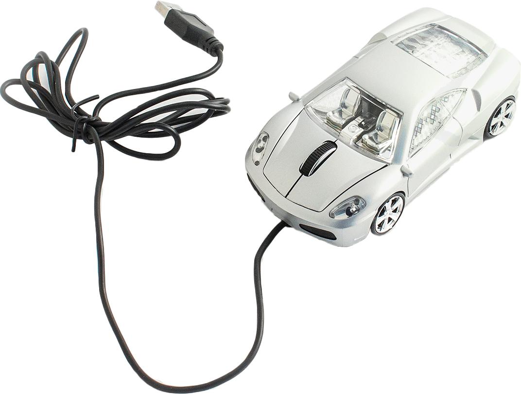 Эврика А30 Автомобиль, Silver мышь