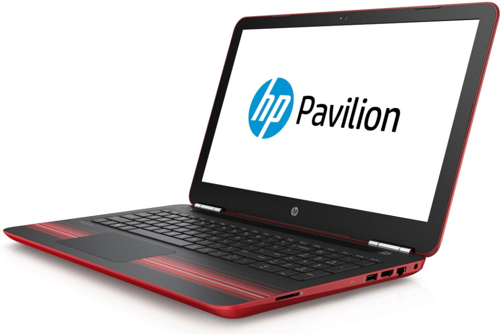HP Pavilion 15-au124ur, Red (Z6K50EA) рюкзак для ноутбука 15 6 hp odyssey black red x0r83aa