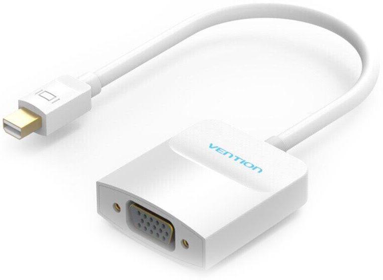 Vention HBDWB mini DisplayPort 20M - VGA 15F адаптер-переходникHBDWBАдаптер-переходник позволяет подключить к устройству с разъемом mini DisplayPort, оборудование с разъемом VGA. С помощью данного адаптера вы можете подключить такие устройства как например Macbook, MacPro и iMac, к проектору, или монитору. Адаптер поддерживает технологию Plug and Play, тем самым, не требуя установки дополнительного программного обеспечения и драйверов.Продукция соответствует следующим сертификатам: RoHS, CE, FCC, TIA, ISOТип разъема: mini DisplayPort 20M > VGA FПоддержка: mini DP ; WUXVGAКонтакты: никелированныеМатериал корпуса: АБС-пластикПропускная способность: до 6,75 Гбит/секДлина (см): 17