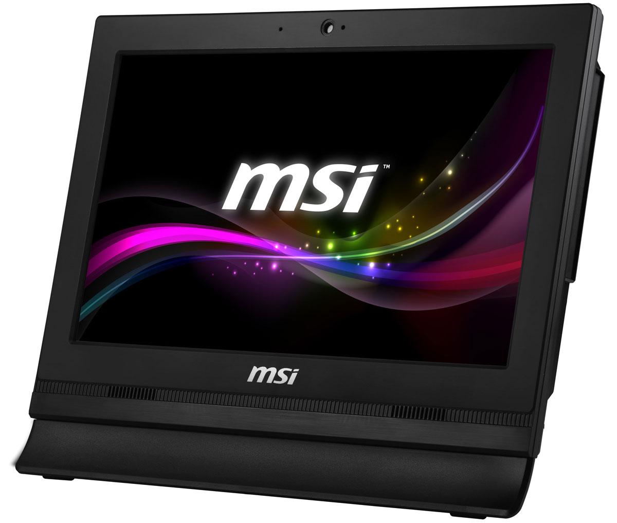 MSI Pro 16T 7M-009RU, Black моноблокPRO 16T 7M-009RUМоноблок MSI Pro 16T 7M оснащён несколькими портами COM и USB 2.0, что позволит подключить к нему любые виды коммерческих POS-машин, таких как сканеры штрих-кода, чековые принтеры и многие другие устройства.Моноблок Pro 16 7M снабжён двухъядерным процессором Intel Celeron 3865U, отличающимся высокой мультизадачной производительностью. Также он имеет низкое энергопотребление, требуя для нормальной работы лишь 15 Вт TDP. Таким образом, он способствует снижению энергопотребления, экономии ваших средств и сохранению экосистемы Земли.MSI всегда гарантирует высочайшее качество графики, поэтому оснастила свой моноблок антибликовым экраном. В ярко освещённых магазинах и офисах или в домашнем кабинете антибликовый экран отлично защитит ваши глаза от отражений и бликов на экране компьютера.Каждому из нас хочется быть уверенным в том, что мы сможем продолжить работу в любое время и в любых условиях. Если вам требуется больше оперативной памяти или жесткий диск побольше, вы легко сможете это сделать сами.Благодаря дополнительному HDD-лотку вы сможете установить второй внутренний жесткий диск и увеличить доступный объём дискового пространства или повысить надёжность хранения данных в случае сбоя одного из дисков.Моноблок имеет интегрированный параллельный порт для подключения принтера. Благодаря этому порту вы можете отправлять редактируемые документы на принтер напрямую, без опаски за утечку важной информации через прослушивание сетевого подключения, которое используется большинством публичных принтеров.Инновационная система охлаждения не предусматривает наличия вентилятора, а это снижает потребление электроэнергии и уровень шума, делая работу на этом моноблоке гораздо приятней. Кроме того, отказ от вентилятора позволил снизить вероятность ошибок и увеличить срок службы моноблока.Создавая этот моноблок, инженеры MSI поставили во главу угла его максимально эффективное энергопотребление и использование экологически безопасных ма
