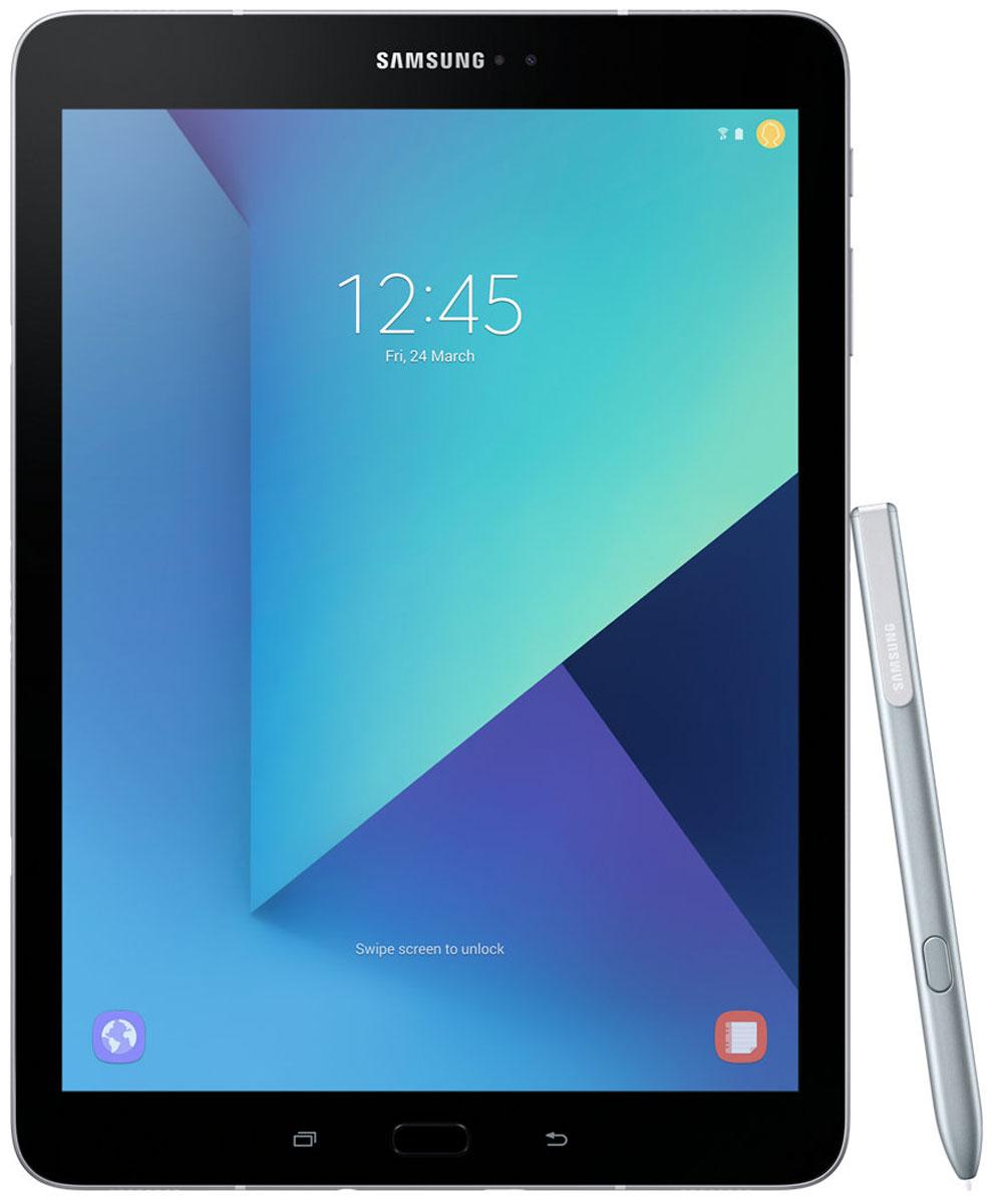 Samsung Galaxy Tab S3 9.7 SM-T820, SilverSM-T820NZSASERОткройте для себя роскошный и уникальный дизайн Samsung Galaxy Tab S3, сочетающий в себе металл и стекло, свойственный флагманам Galaxy. Глянцевое стекло на задней поверхности демонстрирует богатство глубины цвета, создавая тем самым современный внешний вид, который дополняется крепким и прочным металлом.Просматривайте видео в режиме HDR на высококонтрастном и ярком Super AMOLED дисплее Galaxy Tab S3, а четыре динамика, настроенные AKG, подарят объемный звук, создав атмосферу полного погружения.Мощный процессор Snapdragon 820 и 4 ГБ оперативной памяти позволят Вам с легкостью выполнять сложные задачи, обеспечивают работу с несколькими приложениями одновременно, возможность играть в самые современные игры. Высококонтрастный экран Super AMOLED обеспечивает точную передачу всего цветового диапазона.Куда бы вы ни пошли, Galaxy Tab S3 заполнит ваше пространство высококачественным звуком. Это первый планшет Samsung с четырьмя адаптивными динамиками, благодаря которым вам будет доступен многоканальный звук, даже на ходу. Усовершенствованная система динамиков подарит вам богатый звук абсолютно из любого положения планшета. Если вы перевернули планшет - звуковой поток также перераспределится на другие колонки. Таким образом, звук всегда соответствует картинке.Вместе с опытными специалистами австрийского производителя аудиоакустики - компании AKG - мы обеспечили чистейший звук профессионального качества, благодаря чему вы получите еще больше незабываемых впечатлений от работы с планшетом.Функция Galaxy Game Launcher оптимизирована для экрана планшета Galaxy Tab S3 и включает такие опции, как Режим энергосбережения, Запись игры с возможностью загрузки в сеть, Игра без звука и опцию Поддержка текущих вызовов. Добавьте к существующей графике возможности Vulkan API по поддержке 3D графики, а также многочисленные игры из коллекции Galaxy Game Pack, и вы получите развлечения в режиме non-stop.Новый S Pen выглядит и работает, ка