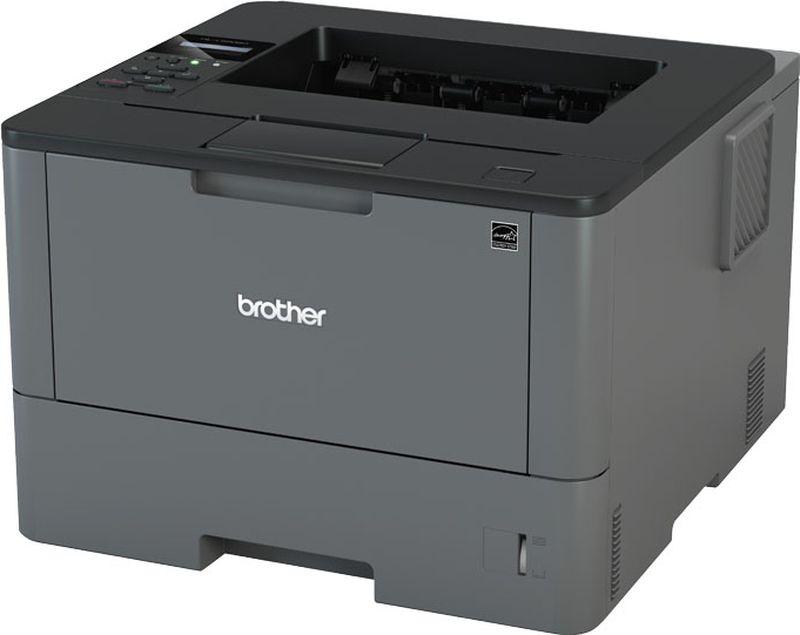 Brother HL-L5000D принтер лазерныйHLL5000DR1Принтер HL-L5000D черный, лазерный, A4, монохромный, ч.б. 40 стр/мин, печать 1200x1200, лоток 250+50 листов, USB, автоматическая двусторонняя печать