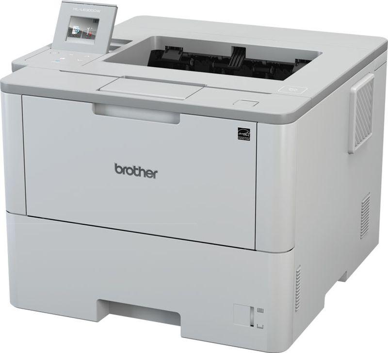 Brother HL-L6300DW принтер лазерныйHLL6300DWR1Принтер HL-L6300DW белый, лазерный, A4, монохромный, ч.б. 46 стр/мин, печать 1200x1200, лоток 520+50 листов, USB, Wi-Fi, NFC, автоматическая двусторонняя печать