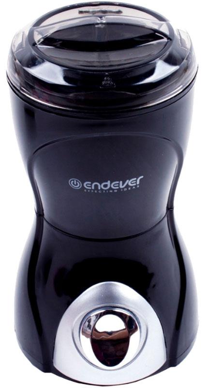 Endever Costa-1057 кофемолкаCosta-1057Кофемолка Endever Costa-1057 оснащена стальными ножами, а также стальной чашей, что увеличивает качество помола, предотвращает выделение вредных веществ и увеличивает срок службы.Медный двигатель обеспечивает максимальную экономичность и гарантирует идеальный результат при потребляемой мощности всего 160-200 Вт.Endever Costa-1056 выполнена из высококачественного ABS-пластика в специальном эргономичном дизайне, кофемолку удобно держать в руке.Кофемолка обладает импульсным режимом работы. Кнопка включения имеет особенное нанесение Soft Touch.Endever Costa-1057 имеет надежную систему защиты от случайного включения, при неправильной сборке мотор будет заблокирован. А прозрачная крышка позволяет контролировать результат и добиться идеальной консистенции продукта.В комплект данной модели входит специальная мерная ложечка. Вместительность кофемолки около 70-100 грамм или 12 чашек кофе.,Скорость вращения центрифуги: 15000 об/мин