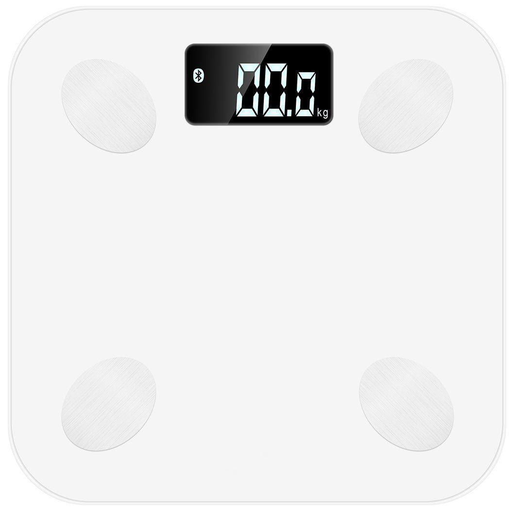 Умные весы MGB Body fat scale, цвет: белыйMGB_F23_BWMGB Body Fat Scale – это не только высокоточные весы, но и ежедневный помощник с 7 дополнительными функциями по измерению параметров тела: вес, ИМТ, жир (%), водный баланс (%), мышцы (%), костная масса (%), калории. Подключите умные весы MGB Body Fat Scale к вашему смартфону посредством Bluetooth и получите уникальную возможность контролировать параметры тела с помощью приложения, которое будет вести запись измерений, анализировать ваши показатели и давать советы по их улучшению.Размер: 260x260x23 ммТип шкалы: ЦифровойОтслеживаемые данные: Вес, жир (%), вода (%), мышцы (%), Субстанции кости (%), ИМТ, калории Ед. изм: kg/lb/st:lb Шаг измерения: 0,1 кгМаксимальный вес: 180 кг / 396 фунтов Материал платформы: ПластикДисплей: 65x28ммАвтоматическое включение / выключение, индикация разряда батареи и перегрузкиПодсветкаЭлементы питания: 4 х 1.5V AAA батареиФункция памяти: 10 пользователей