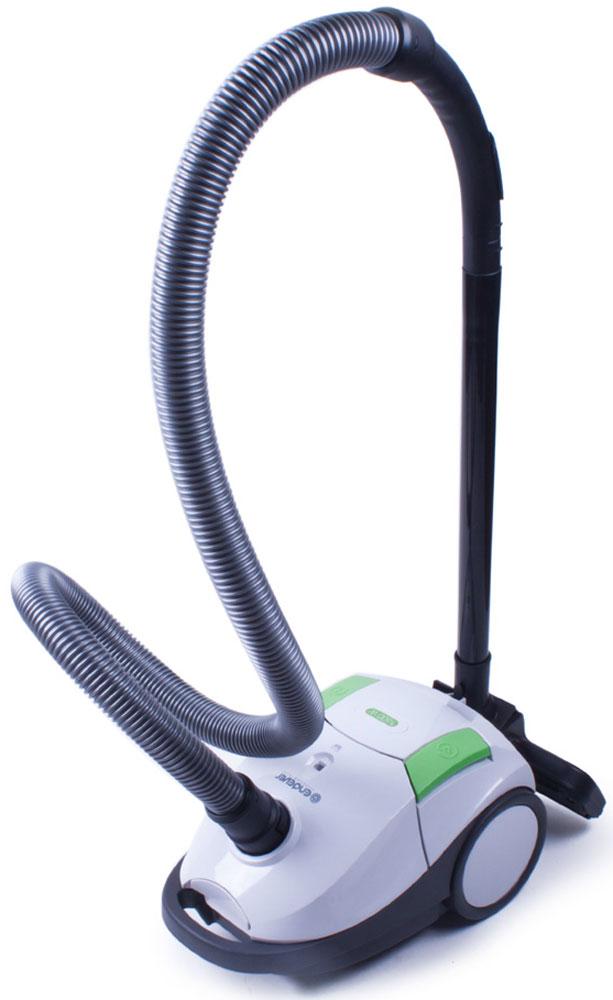 Endever VC-170 пылесосVC-170Пылесос мешкового типа Endever 170-VC имеет мощность всасывания 300 Вт, что позволяет собрать всю пыль и мельчайшие загрязнения. Объем мешка для пыли равен 2 л.Гибкий шланг с регулятором воздушного потока для удобства расположен на ручке. Модель оснащена функцией регулировки мощности всасывания.Инновационное строение корпуса и фильтров, минимизирующее уровень шумаВозможность регулировки длины щетины на щетке для разных напольных покрытий