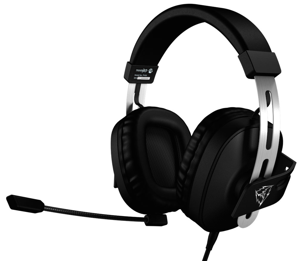 ThunderX3 Professional Stereo Gaming TH30 игровая гарнитураTH30Игровая гарнитура ThunderX3 TH30отлично подойдет как для игр так и для просмотра фильмов.Огромные драйверы ThunderX3 TH30 диаметром 53 миллиметра с глубокими низкими частотами, позволяют прочувствовать все звуки так, как если бы вы находились в эпицентре происходящего.Позолоченные коннекторы 3.5 мм, бережно передают звук с наивысшим качеством и четкостью, а также предотвращают износ коннекторов от частого переподключения.Точная настройка положения чашек наушников, обеспечивает комфорт и избавляет от посторонних шумов и делает звуковую картину более реалистичной, благодаря плотному прилеганию амбушюр.Большие амбушюры ThunderX3 TH30 полностью охватывают ухо и плотно прилегают к голове, изолируя уши от посторонних шумов. Мягкость, с которой амбушюры касаются головы, обеспечиваются специальным материалом, который не создает дискомфортного давления и позволяет проводить даже самые длительные игровые марафоны без тени усталости.Акустическая компоновка 2.1, включающая в себя стереодинамики и сабвуфер, позволяет в полной мере насладиться играми, фильмами и музыкой.Шумоподавляющие фильтры отрезают нежелательные звуки, делая голос легко узнаваемым и повышая точность передачи речи.Гнезда 3.5 мм на левой и правой чашке гарнитуры универсальны, можно менять местами микрофон и звуковой кабель в зависимости от индивидуальных предпочтений.В отличии от обычных игровых гарнитур, чашки ThunderX3 TH30 выполнены из металлической сетки черного цвета, придающей гарнитуре особую технологичную эстетику дизайну гарнитуры.Регулируемое оголовье игровой гарнитуры выполнено из нержавеющей стали, устойчивой к изгибам и деформации.