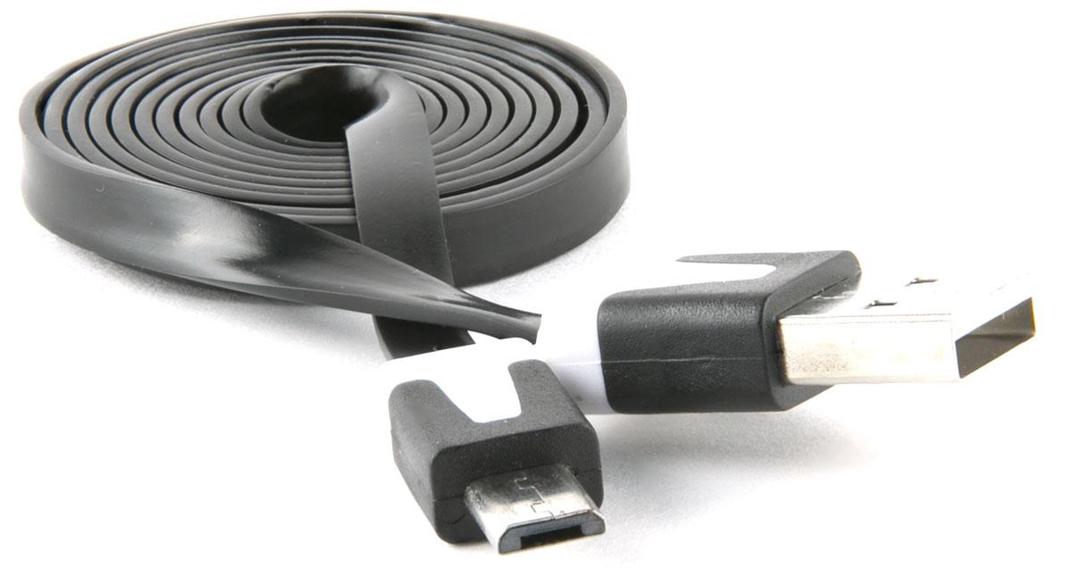 Red Line, Black кабель USB-microUSB (1 м)УТ000010320Кабель Red Line предназначен для передачи данных между персональными компьютерами и смартфонами, планшетами, MP3-плеерами и прочими устройствами с портом microUSB. Кроме того, его можно подключить к адаптеру питания USB, чтобы зарядить устройство от розетки.