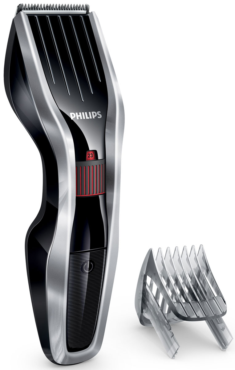режущий блок для электробритвы philips hq8 50 Philips HC5440/15 беспроводная машинка для стрижки волос с 24 установками длины