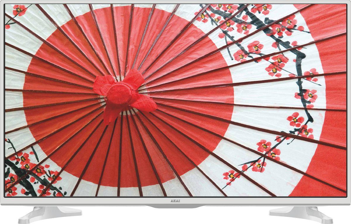 Akai LES-32A65W телевизор90000004193Белый SMART телевизор на базе Android со встроенным DVB-T2 тюнером