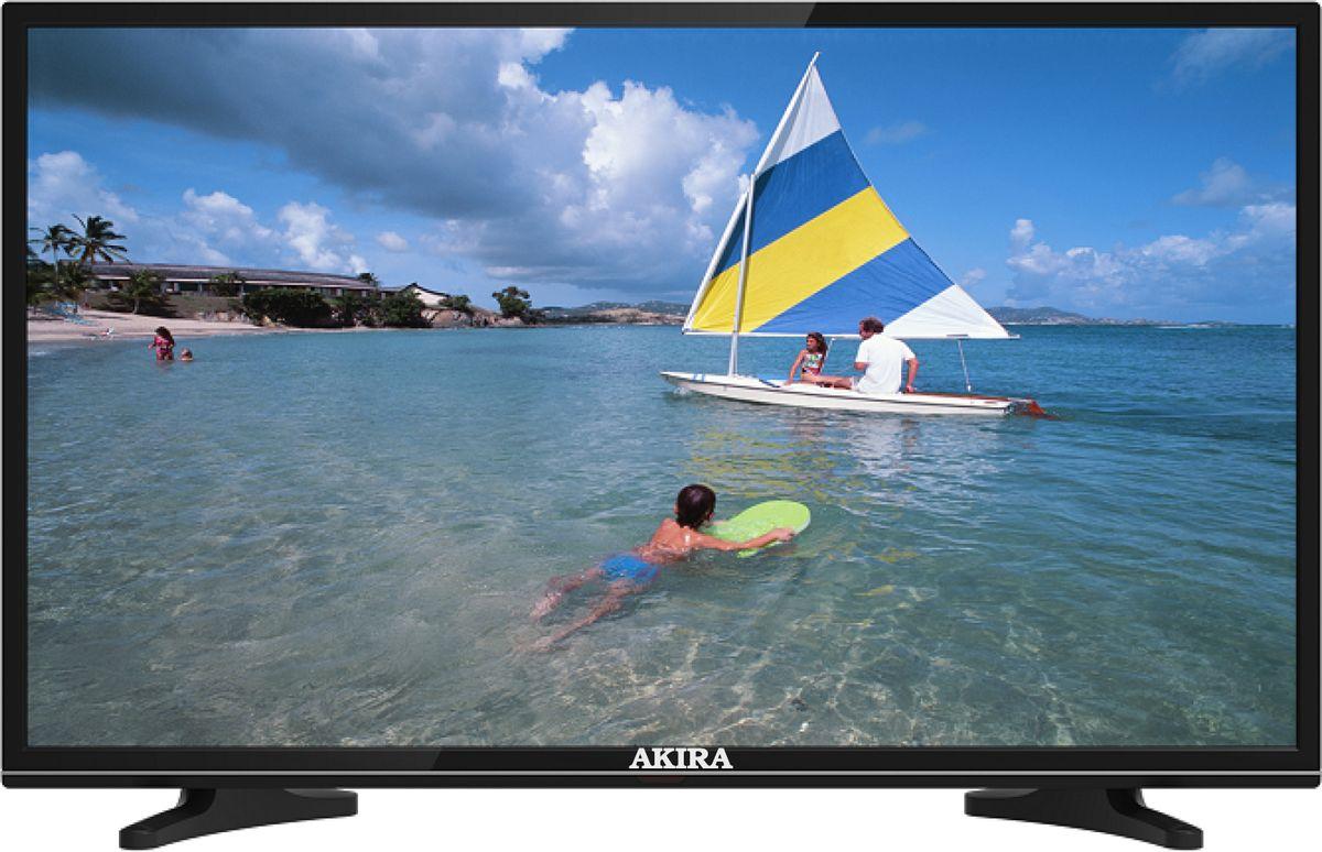 Akira 39LED01T2M телевизор90000001832Бюджетный качественный телевизор большой диагонали со встроенным DVB-T2 тюнером