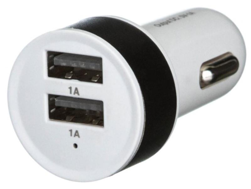 Red Line C19, Black White автомобильное зарядное устройствоУТ000010148Автомобильное зарядное устройство Red Line C19 имеет два разъема USB, что дает пользователям возможность заряжать несколько гаджетов одновременно. Особенно полезным этот маленький девайс будет в путешествии, когда нет возможности зарядить мобильный от сети. Рассматриваемая модель очень проста в использовании: достаточно лишь подсоединить ее к прикуривателю авто, и она будет готова к работе.