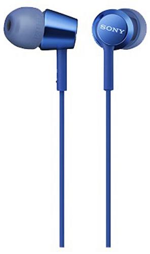 Sony EX155, Blue наушникиMDREX155LI.EНаушники-вкладыши Sony EX155 обеспечивают отличный динамический звук даже на ходу.Высокочувствительные 9-миллиметровые динамики в компактном корпусе обеспечивают четкое звучание верхних частот и мощные басы.Устойчивый к спутыванию и перекручиванию рифленый кабель обеспечивает комфорт при использовании наушников.Вкладыши четырех размеров (SS, S, M и L) позволяют адаптировать наушники под свои потребности для максимально комфортного прослушивания на ходу.