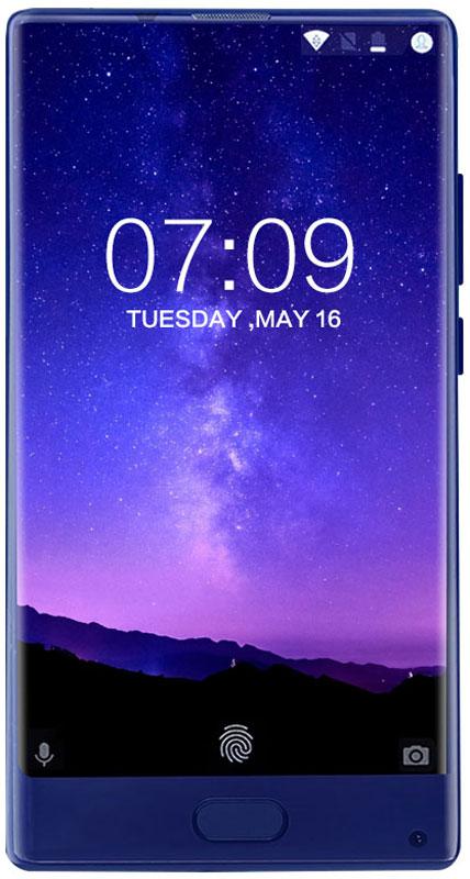 Doogee MIX 6GB+64GB, BlueMIX_Blue 6GB+64GBDoogee MIX - самый компактный смартфон с безрамочным дисплеем в мире.Дисплей охватывает не только боковые панели корпуса, но еще и верхнюю панель. Такая конструкция не имеет аналогов в своем классе. Безрамочный дисплей не показывает изображение в рамке, он дарит подлинное ощущение присутствия. Именно таким должен быть ультрасовременный смартфон - открывать весь мир на вашей ладони.Экран Samsung Super AMOLED дарит живые и естественные цвета, а корпус с ионно-вакуумным напылением толщиной несколько микрон -глубокий и насыщенный блеск.Сердце смартфона - новейший 8-ядерный центральный процессор Helio P25 - превосходно совмещает высокую скорость с низким энергопотреблением. Технология FinFET с техпроцессом 16 нм экономит до 25 % потребляемой энергии. Тактовая частота процессора - невероятные 2,5 ГГц - обеспечит незабываемые дозы адреналина во время видеоигр. ОЗУ до 6 Гбайт (LPDDR4x) и внутренняя память 128 Гбайт - хватит места для всех фотографий, музыки и приложений.Сочетание процессора Helio P25 и дисплея Samsung Super AMOLED позволило добиться выдающихся характеристик энергосбережения и, как следствие, большого времени работы на одном заряде аккумулятора. Безрамочный дисплей может гореть хоть целый день, после чего быстрое зарядное устройство на 5 В / 2 А вернет 80 % заряда аккумулятора всего за 30 минут.Смартфоны Doogee MIX оснащаются сдвоенной основной видеокамерой: 16,0 Мпикс. (цвета RGB) +8,0 Мпикс. (монохромная). Матрица Samsung ISOCELL с превосходной светочувствительностью подарит столь же четкое и резкое изображение, как будто у вас в руках зеркальный фотоаппарат!Смартфон работает под ОС Android 7.0 самой последней версии со всеми функциями. Больше возможностей персонализации, больше средств безопасности.Смартфон сертифицирован EAC и имеет русифицированный интерфейс меню и Руководство пользователя.