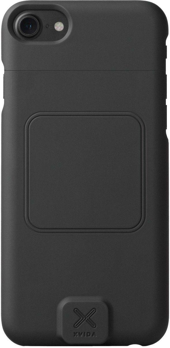 Xvida Charging Case, Black магнитный чехол-зарядка для iPhone 7 (WCCI7-01B)WCCI7-01BУльтратонкий и легкий кейс выполнен из качественного софт-тач пластика с мягким покрытием внутри. Зарядка происходит в соответствии со стандартом Qi, по принципу индукционной передачи энергии. Магнитное крепление чехла совместимо со всеми зарядными устройствами и креплениями XVIDA. Зарядка при этом возможна от любого устройства с технологией Qi. • Скорость зарядки на 50% быстрее. • Доступ ко всем разъемам и кнопкам смартфона.• Удобное магнитное крепление.• Сквозной разъем Lightning.• Стандарт питания Qi.