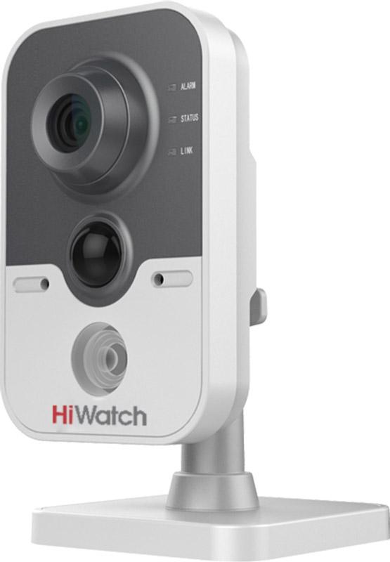 Hiwatch DS-I114 камера видеонаблюдения16000007805901 Мп внутренняя IP-камера c ИК-подсветкой до 10 м 1/4 CMOS матрица; объектив 2.8 мм; угол обзора 69°; механический ИК-фильтр; 0.01 лк @F1.2; DWDR, 3D DNR, BLC; встроенный микрофон/ динамик; PIR-датчик; обнаружение движения, вторжения в область и пересечения линии; видеобитрейт 32 кб/с -8 Мб/с; -20°C ...+45°C; 12В ±10%/PoE (802.3af); 5 Вт макс.