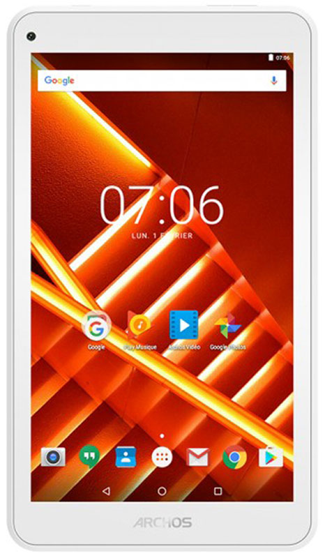 Archos 70D Titanium 8GB70D TITANIUM 8GBДобавьте больше цветов в свою жизнь с Archos 70D Titanium.Четырёхъядерный процессор обеспечивает высокую производительность. Именно он делает устройство более отзывчивым, быстрым и многозадачным. Доверьтесь Archos 70D Titanium, если хотите посмотреть кино, послушать музыку или зайти на любимый сайт.Поддержка Bluetooth иWi-Fi всегда вас выручит. Теперь легко и просто делиться своими файлами, проводить стриминг, работать в социальных сетях.Если необходимо делать снимки на ходу или проводить видео-чаты с близкими, то Archos 70D Titanium идеальный компаньон. Качественный 7-дюймовый дисплей обладает высокой детализацией отображения картинки и большими углами обзора.Откройте для себя Android 7.0 Nougat. ОС обеспечивает эффективное управление зарядом аккумулятора и оснащена рядом серьёзных улучшений.Планшет сертифицирован EAC и имеет русифицированный интерфейс, меню и Руководство пользователя.