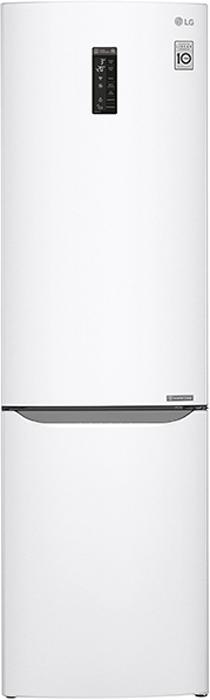 LG GA-B499SVKZ холодильникGA-B499SVKZобщий объем 360л, объем мороз камеры 105 л,объем холод камеры 255 л, ширина 59.5 см. глубина 67 см, цвет Белый, Wi-Fi, Total No Frost, A++, высота 200 см.