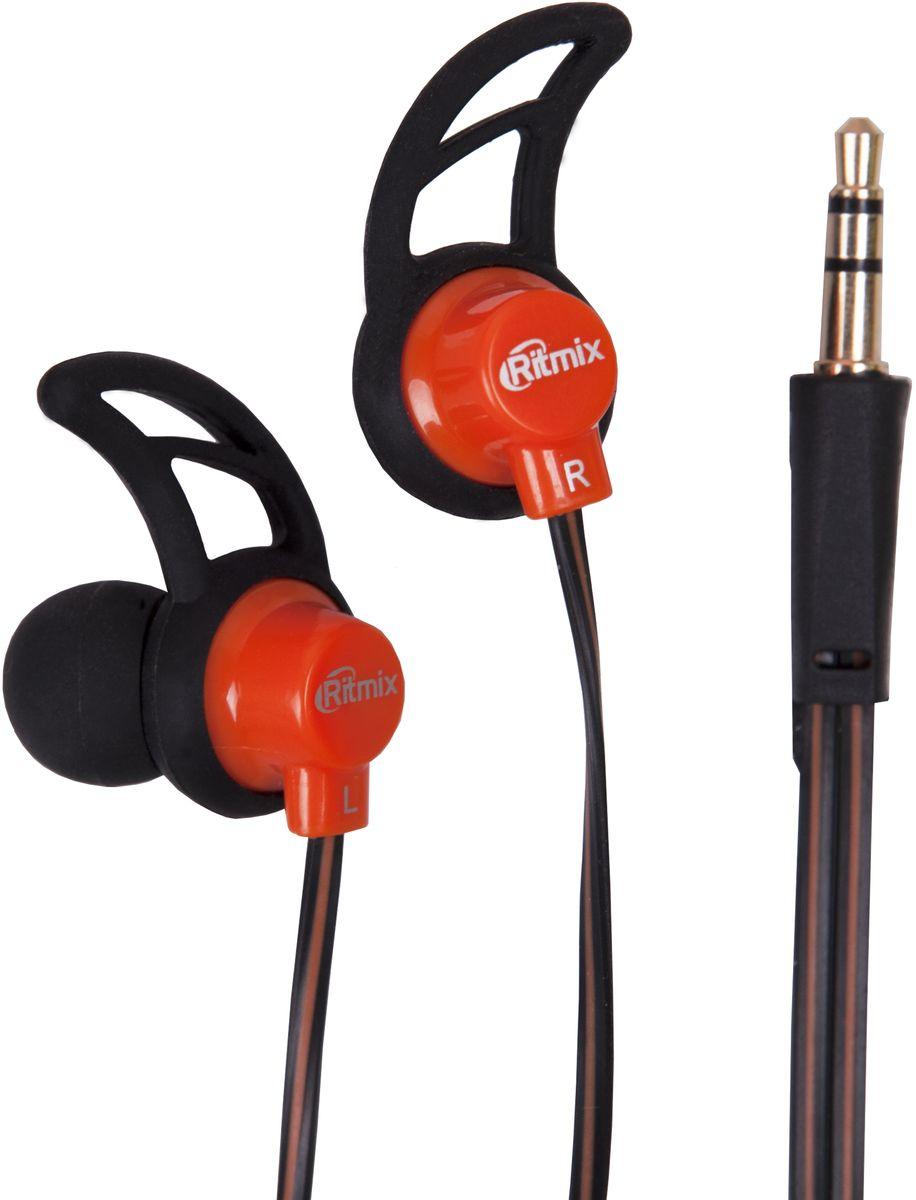 Ritmix RH-125, Black Orange наушники