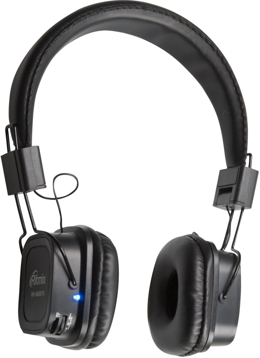 Ritmix RH-480BTH, Black Bluetooth гарнитура ritmix rdf 710 black цифровая фоторамка