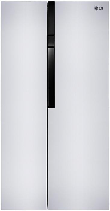 LG GC-B247JVUV холодильникGC-B247JVUVSBS, Белый, (ШxГxВ) 91.2x71.7x179 см , No Frost, Объем Общий объем 613 л/394 л/219 л, дисплей.