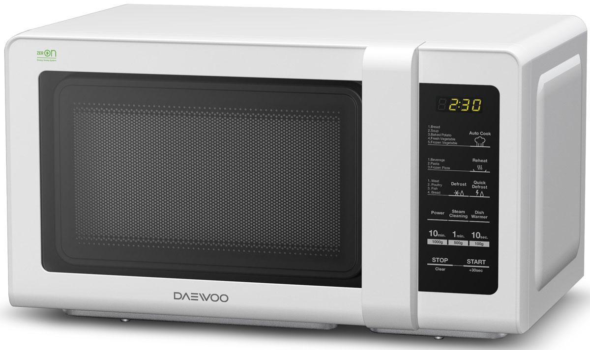 Daewoo KOR-662BW, White СВЧ-печьKOR-662BW