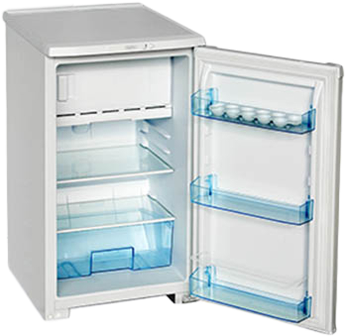 Бирюса M108 холодильникБ-M108Однокамерный холодильник, общий объем 115л, объем х/к 88л, объем м/к 27л, тип упр-я механический, кол-во компрессоров - 1, класс энергоэффективности А, 86,5 х 48 х 60,5 (ВхШхГ), цвет: металлик