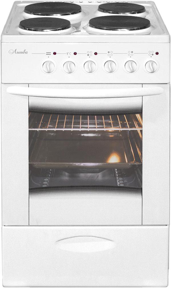 Лысьва ЭП 402 МС плита электрическая, цвет белый (без крышки)
